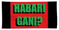Habari Gani Beach Sheet
