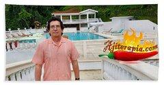 Hacienda Bajo Las Estrellas Beach Towel