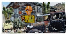 Hackberry Route 66 Auto Beach Sheet by Kyle Hanson
