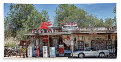 Hackberry General Store On Route 66, Arizona Beach Towel