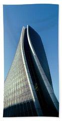 Hadid Tower, Milan, Italy Beach Sheet