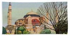 Hagia Sophia Beach Towel