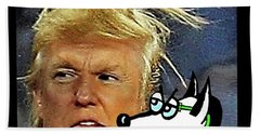 Hail  Emperor Trump...   Beach Sheet