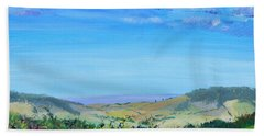 Haldon Hills Sea View Beach Towel