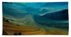 Beach Towel featuring the photograph Haleakala by M G Whittingham