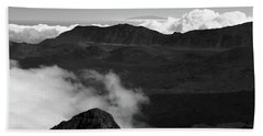 Haleakala B/w Beach Sheet
