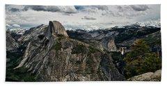 Half Dome At Yosemite Beach Towel