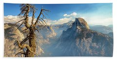 Half Dome From Glacier Point Beach Sheet