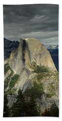 Half Dome From Pohono Trail 2 Beach Towel