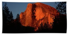 Half Dome From Sentinel Drive Bridge Beach Towel