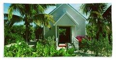 Half Moon Caye Church Beach Towel by Gary Wonning