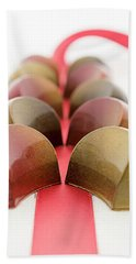Beach Sheet featuring the photograph Halfmoon Chocolates by Sabine Edrissi