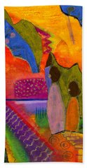 Hallelujah Praise Beach Sheet by Angela L Walker