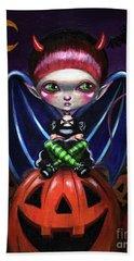 Halloween Little Devil Beach Sheet