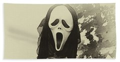 Halloween No 1 - The Scream  Beach Sheet