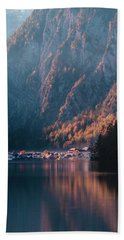 Hallstatt Fall Beach Towel