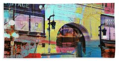 Beach Towel featuring the photograph Hamm Building St. Paul by Susan Stone