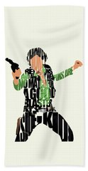 Han Solo From Star Wars Beach Towel