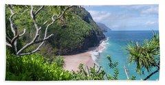 Hanakapiai Beach Beach Towel