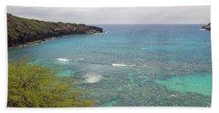 Hanauma Bay 2 Beach Towel