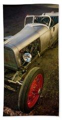Hand Built Track T Vintage Replica Hotrod Beach Towel
