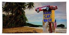 Hand Wash Beach Sheet by Harry Spitz