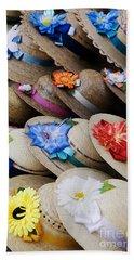 Handmade Hats Beach Towel
