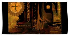 Hands Of Time Beach Towel