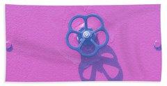 Handwheel - Pink Beach Towel