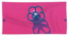 Handwheel - Red Beach Towel