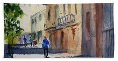 Hang Ah Alley Beach Towel by Tom Simmons