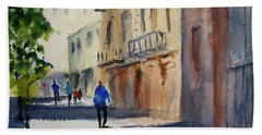Hang Ah Alley Beach Sheet by Tom Simmons