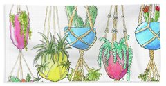 Hanging Garden Beach Towel