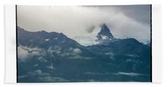 Hanging Glacier Beach Towel