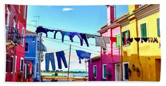 Hung Out To Dry Beach Towel