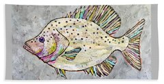 Happy Crappie Beach Sheet