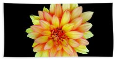Happy Dahlia Beach Towel