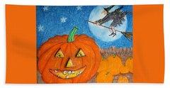 Happy Halloween Boo You Beach Towel