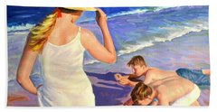 Happy Moment Beach Towel