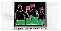 Happy Mother's Day 3 Beach Towel