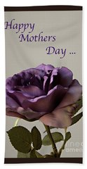 Happy Mothers Day No. 2 Beach Sheet by Sherry Hallemeier