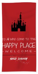 Happy Place Beach Towel