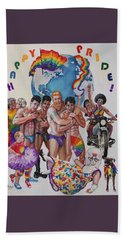 Happy Pride Beach Towel