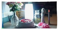 Beach Towel featuring the photograph Happy Returns by Denise Fulmer