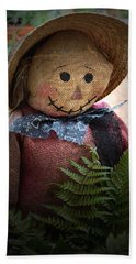Happy Scarecrow Beach Towel