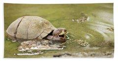 Happy Turtle Beach Towel