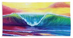 Happy Wave Beach Sheet