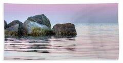 Harbor Breakwater Beach Towel