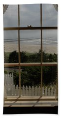 Harbor Entrance Beach Towel