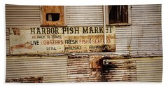 Harbor Fish Market Beach Sheet